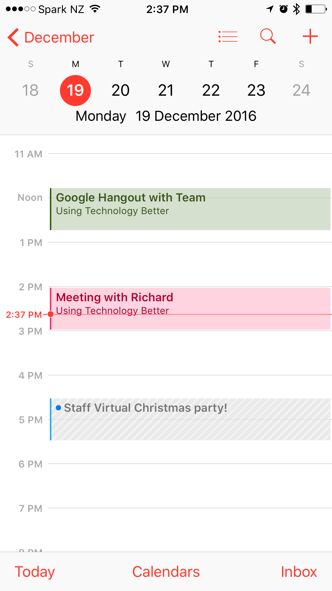 does google calendar sync with iphone