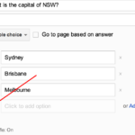 Randomising Answers in Google Forms