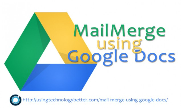 How to use Autocrat to do a mail merge using Google Docs