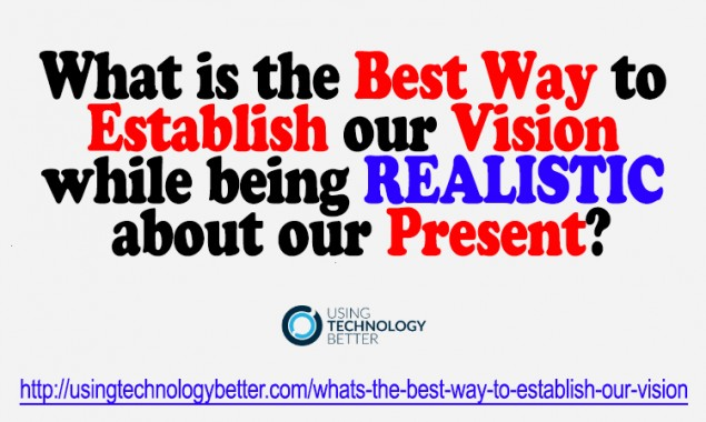 The Best Way to Make Your Vision a Reality