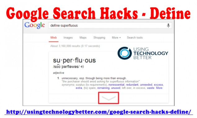 Google Search Hacks—Define
