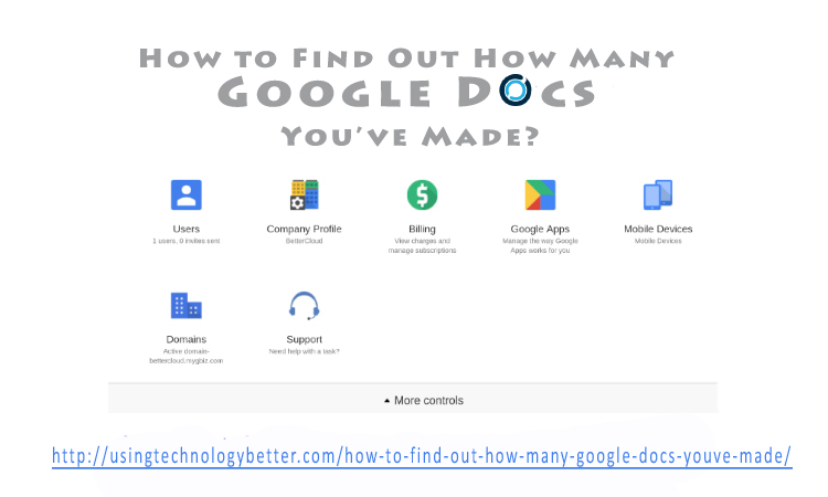 How to Find Out How Many Google Docs You've Made