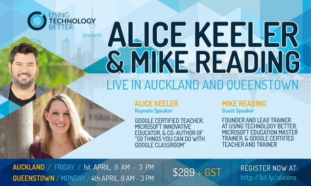 One Day Conference With Alice Keeler