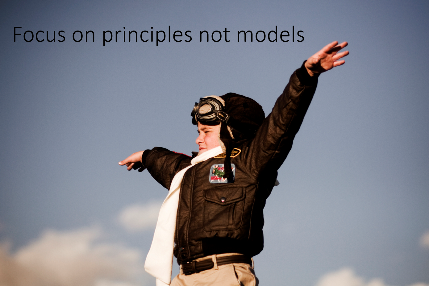 BYOD principles not models