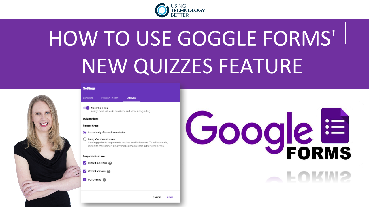 How to Use Google Forms quizzes feature