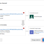 How to move a YouTube channel to another Google account