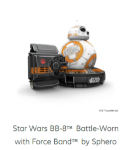 Star Wars BB-8 Battle-Worn with Force Band