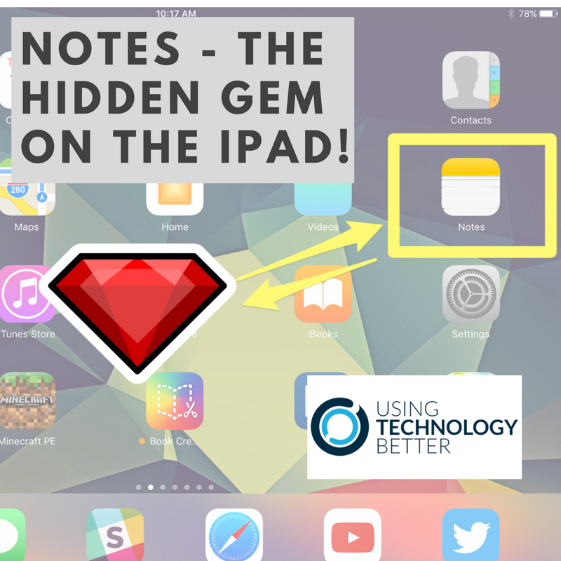 The Notes App – the Hidden Gem on an iPad