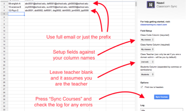 Exclusive first look – setup Google Classroom with this Google Sheets add-on