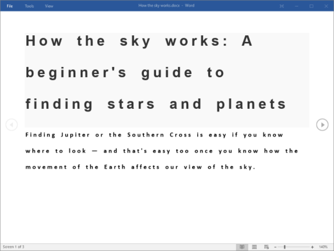 Microsoft Word's Learning Tools_4