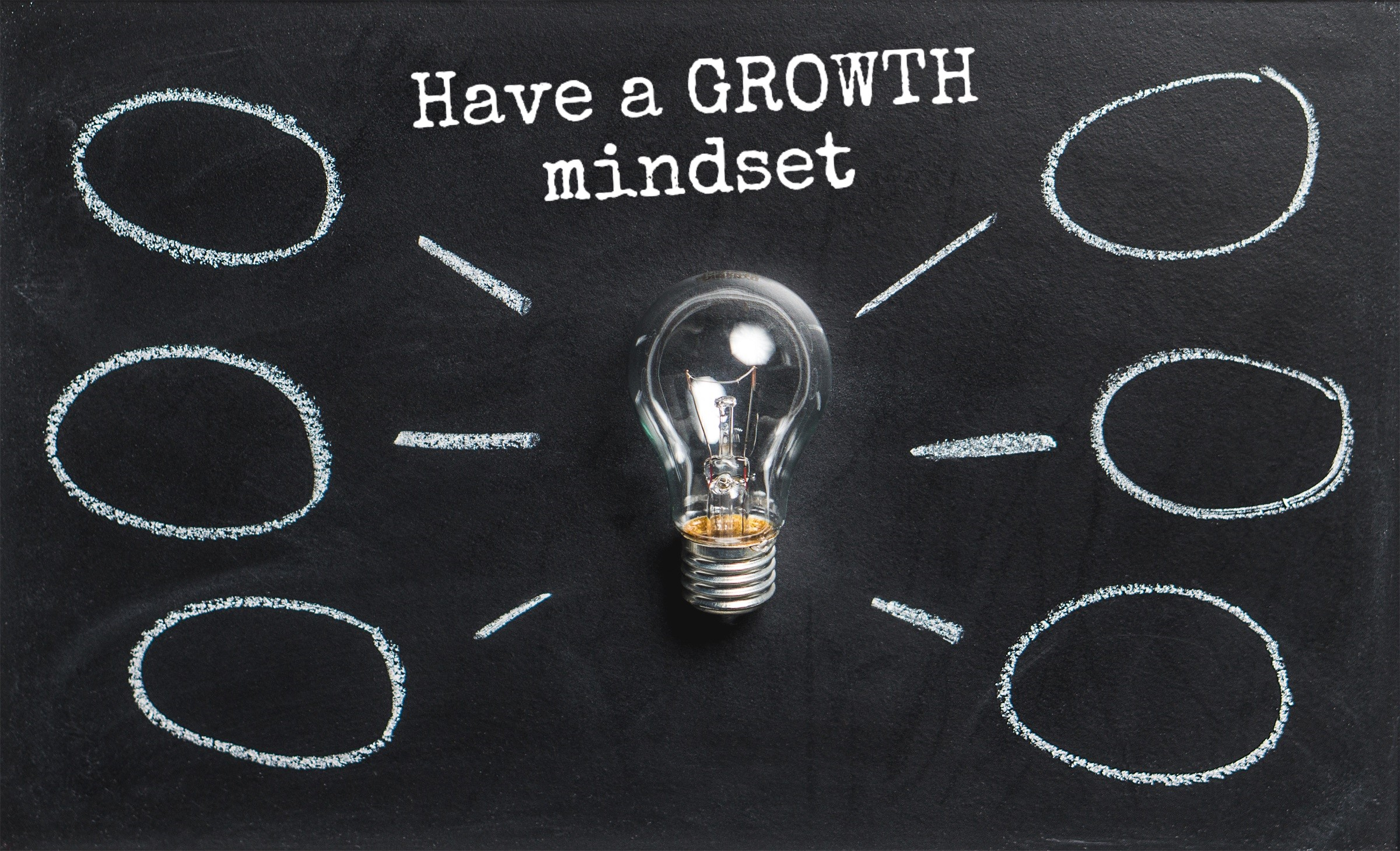 Have a Growth mindset for teachers