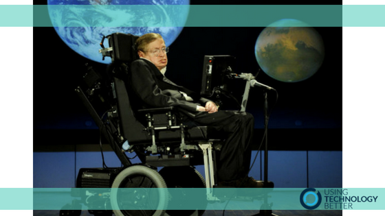 A Message about Learning from Stephen Hawking
