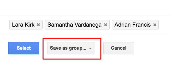 how to create a contact group in gmail
