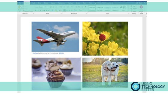 Get thousands of free images in Microsoft Word & PowerPoint