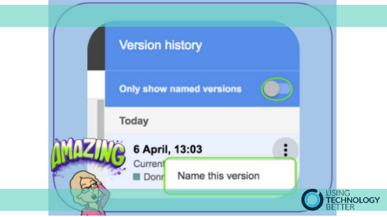 How to rename a version history in Google Docs, Slides or Sheets.