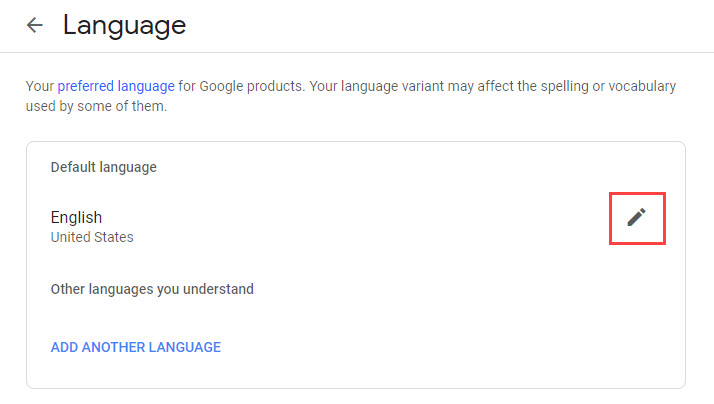 Fix your language & country settings in Google Docs, Sheets