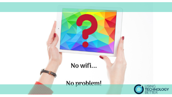 3 ways to use your iPads without relying on wifi
