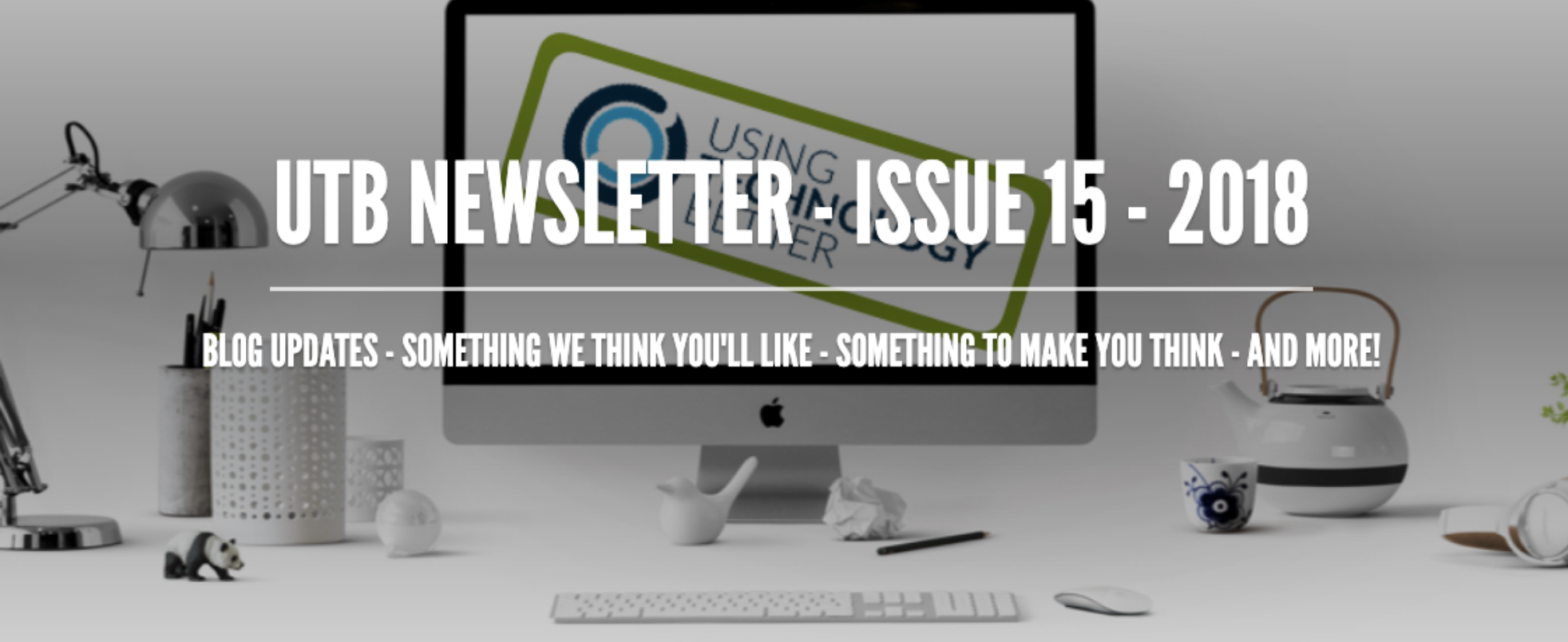 Newsletter Issue 14 - 2018