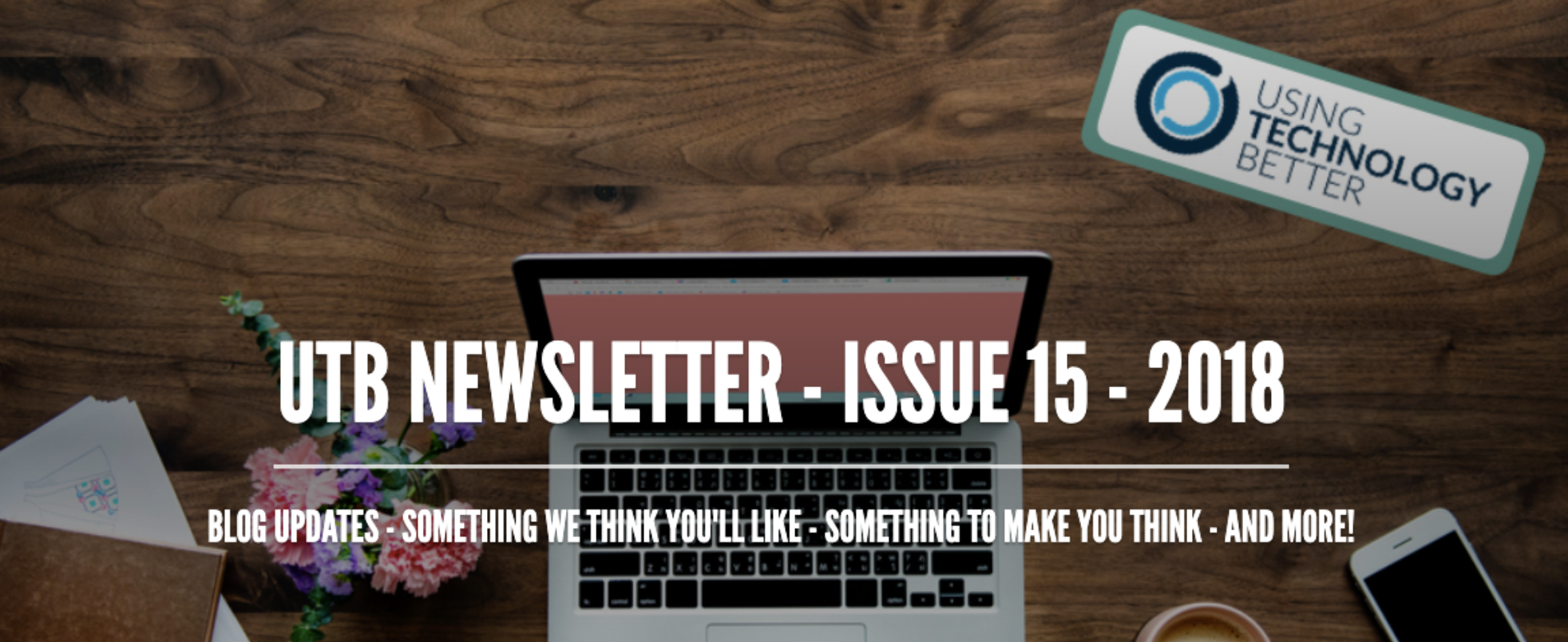 Newsletter Issue 15 - 2018