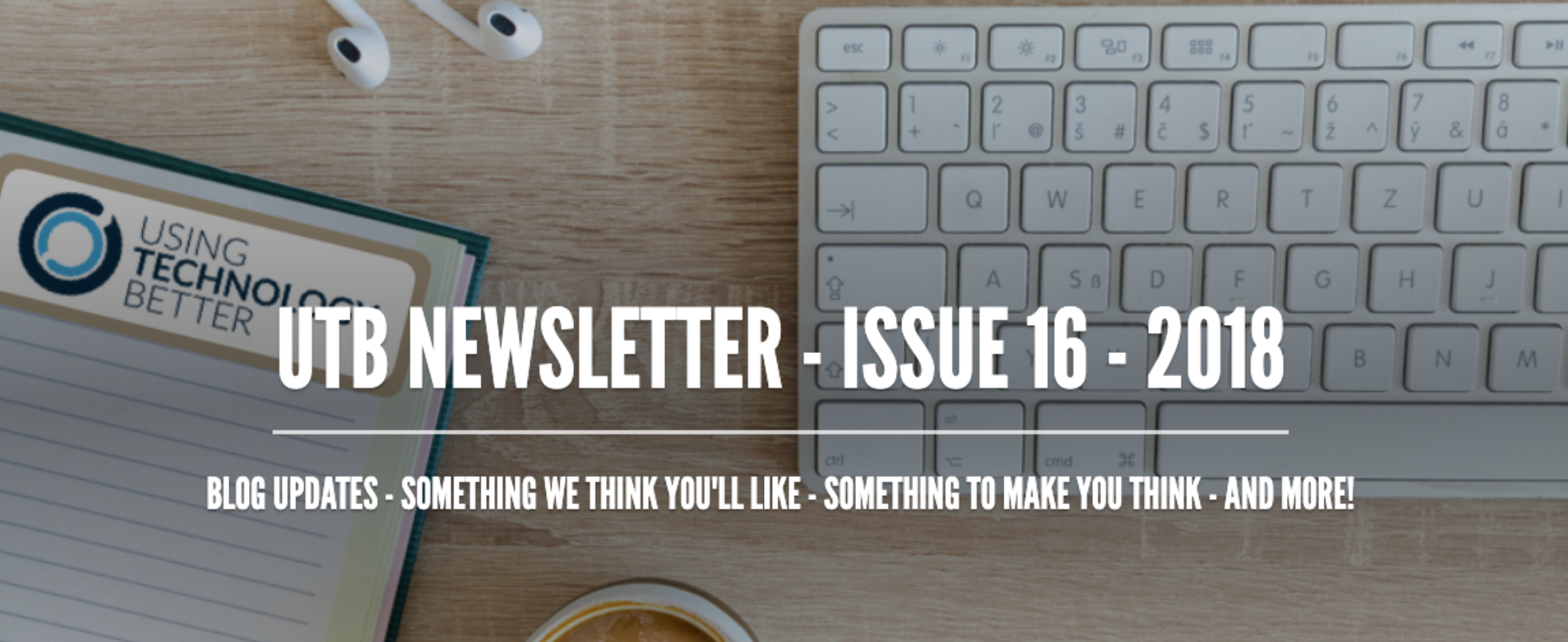 Newsletter Issue 16 - 2018