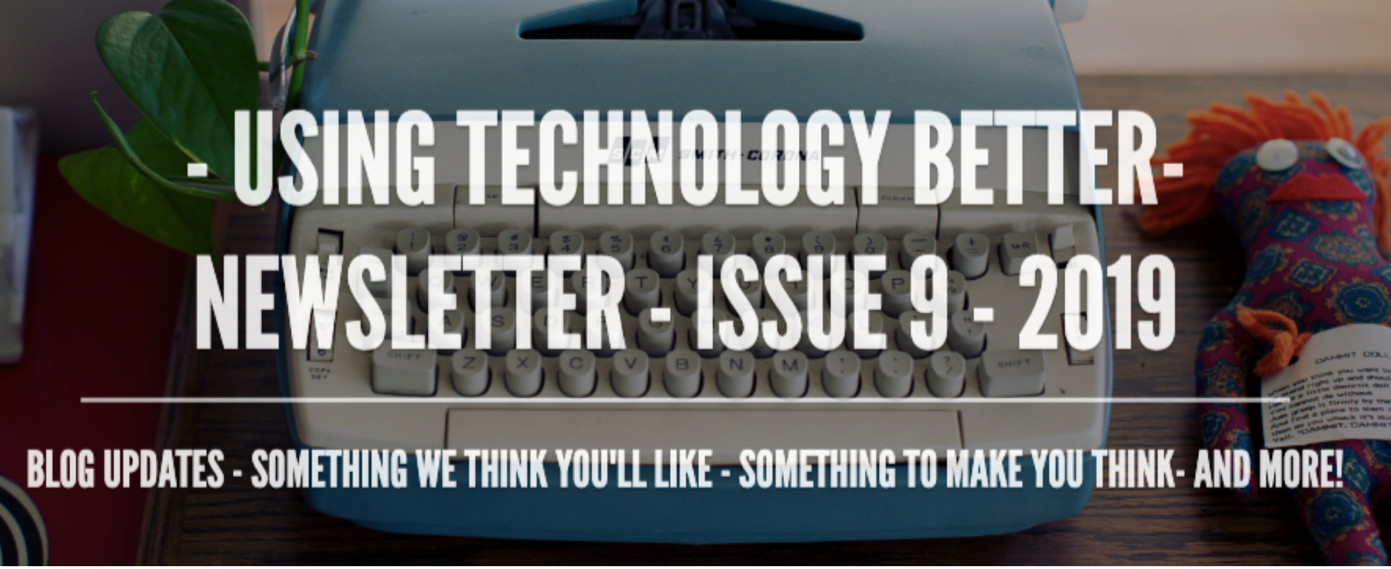 UTB-Newsletter Issue 9