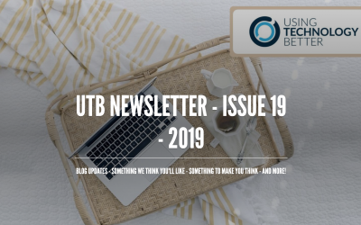 UTB Newsletter – Issue 19 – 2019