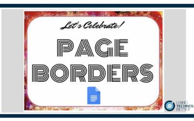 How to create page borders in Google Docs