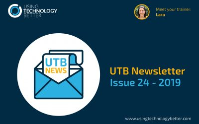 UTB Newsletter 2019 – Issue 24
