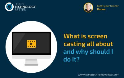 What is screencasting all about and why should I do it?