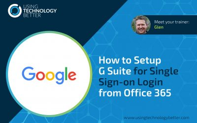 How to setup G Suite for Single Sign-on Login from Office 365