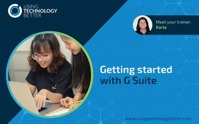 How to get your students started with G Suite tools the right way!