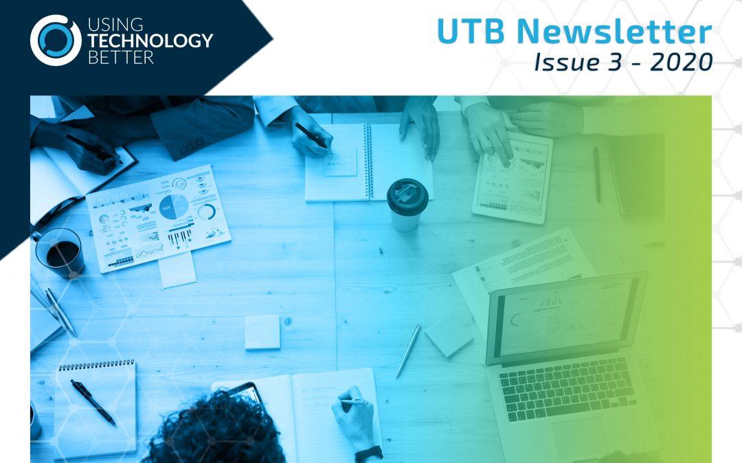 UTB Newsletter 2020 – Issue 3