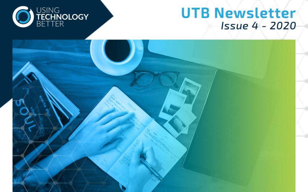 UTB Newsletter 2020 – Issue 4