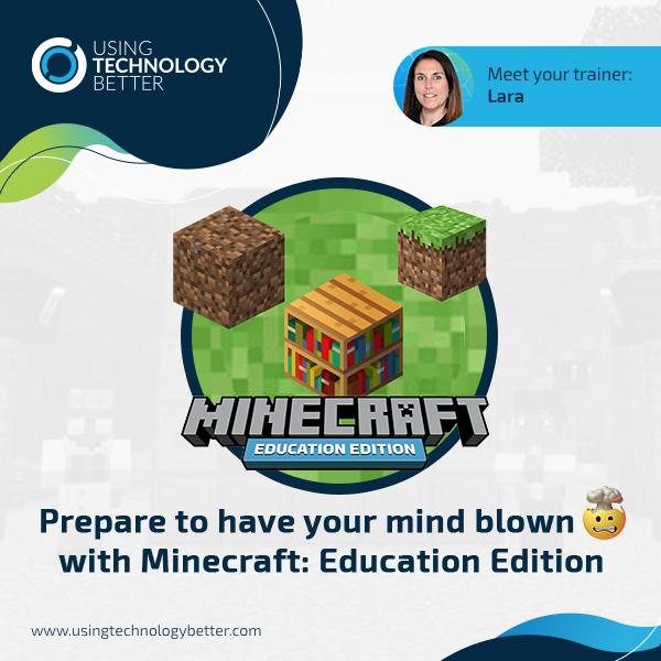Minecraft Education Edition Webinar Series