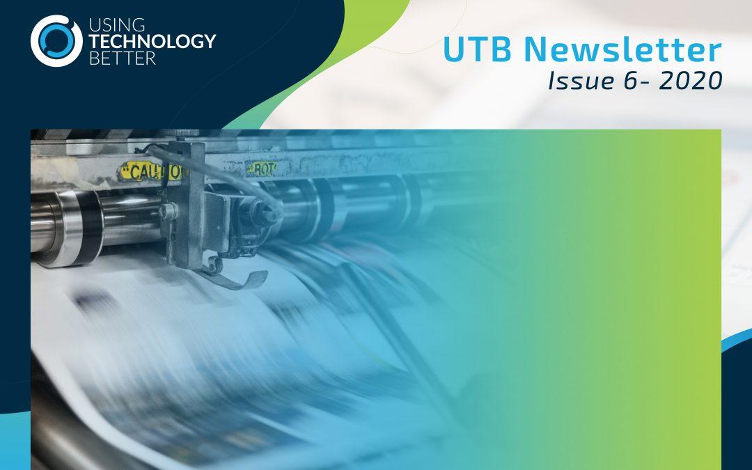 UTB Newsletter 2020 – Issue 6